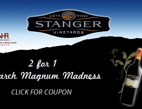 Vintage Paso Zinfandel Weekend Deals at Stanger Vineyards