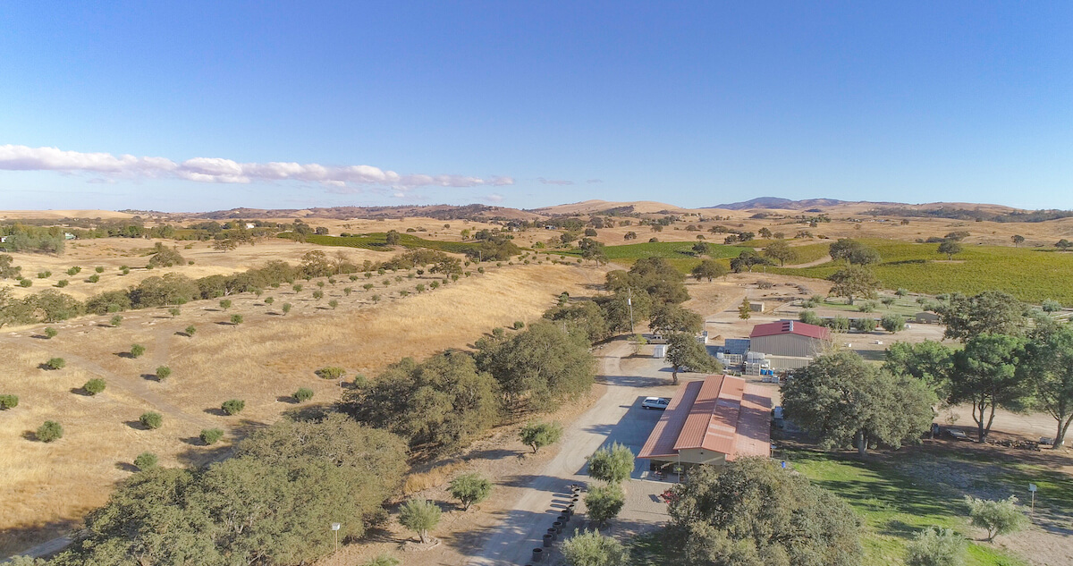 olive ranch aerial